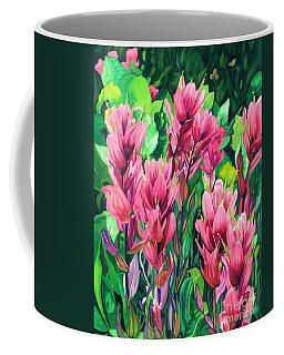 Mountain Meadows' Paintbrush Coffee Mug by Barbara Jewell