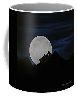 Mountain Monastery Coffee Mug by Dick Bourgault
