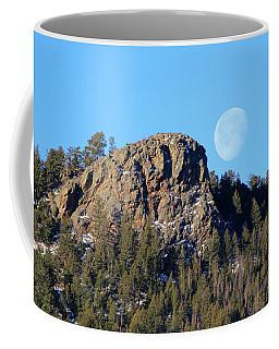 Mountain Moonset Coffee Mug
