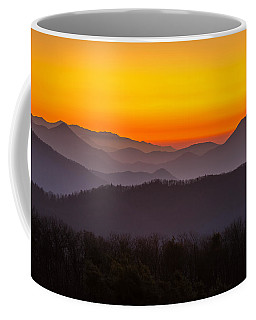 Mountain Sunset In Tennessee Coffee Mug