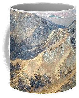 Coffee Mug featuring the photograph Mountain View 2 by Mark Greenberg