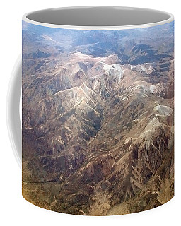 Coffee Mug featuring the photograph Mountain View by Mark Greenberg