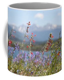 Mountain Wildflowers Coffee Mug