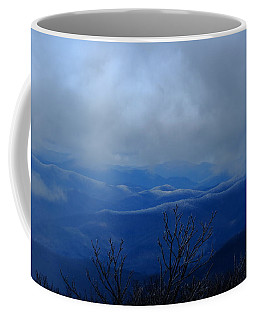 Mountains And Ice Coffee Mug