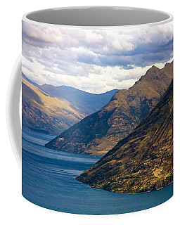 Mountains Meet Lake Coffee Mug