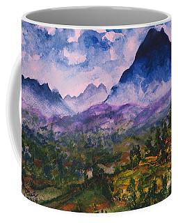 Mountains Of Pyrenees  Coffee Mug