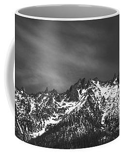 North Cascade Mountain Range Coffee Mug by Yulia Kazansky
