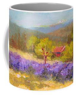 Mountainside Lavender   Coffee Mug