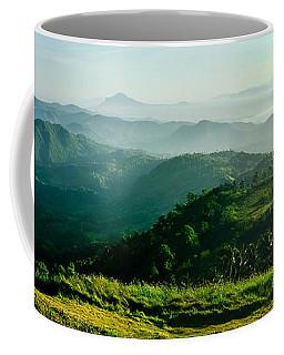 Mountaintop Panorama Coffee Mug