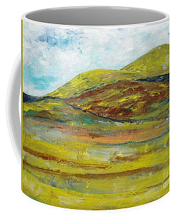 Mountains  Coffee Mug by Reina Resto