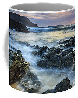 Coffee Mug featuring the photograph Mourillar Beach Galicia Spain by Pablo Avanzini