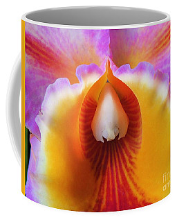 Mouth Of An Orchid Coffee Mug by Kristine Merc