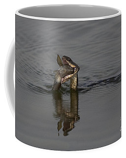 Coffee Mug featuring the photograph Mouthful by Eunice Gibb