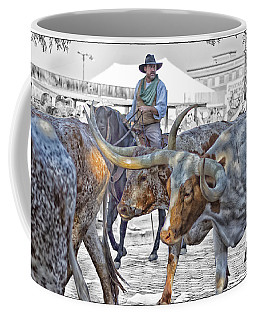 Move Em Out Coffee Mug