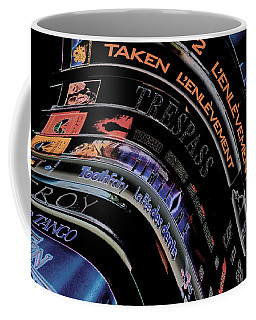 Coffee Mug featuring the photograph Movie Madness by Pennie  McCracken