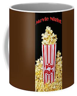 Movie Night Pop Corn Coffee Mug