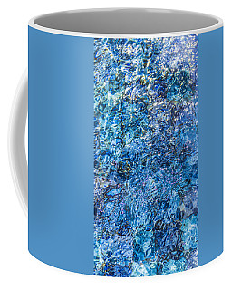 Coffee Mug featuring the photograph Moving Water 1 by Leigh Anne Meeks