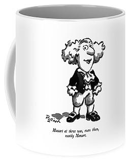 Mozart At Three Coffee Mug