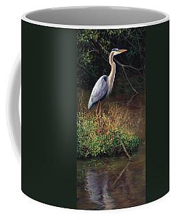 Mr Blue Heron Coffee Mug