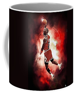 Mr. Michael Jeffrey Jordan Aka Air Jordan Mj Coffee Mug