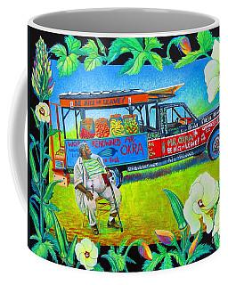 Mr Okra Coffee Mug