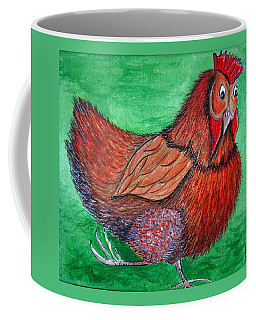 Mrs Chicken Coffee Mug