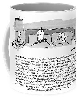 Mrs. Van Lewis-smythe Coffee Mug