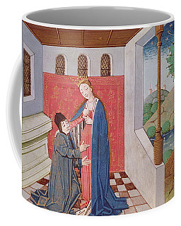 Ms 3045 Fol.40v Dialogue Between Boethius And Philosophy, From Consolation De La Philosophie Coffee Mug