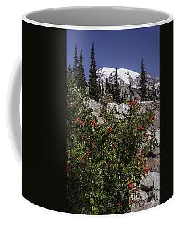 Mt Ash At Mt Rainier Coffee Mug