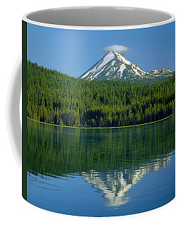 1m5705-h-mt. Mcloughlin From Lake Of The Woods Coffee Mug