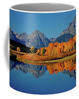 Mt. Moran Reflection Coffee Mug by Ed  Riche