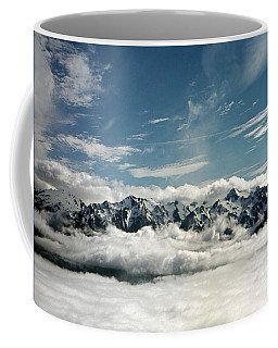Coffee Mug featuring the photograph Mt Olympus by Greg Reed