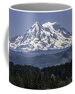 Mt Rainer In July Coffee Mug