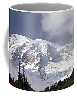 Coffee Mug featuring the photograph Mt Rainier  by Greg Reed