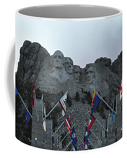 Mt. Rushmore In The Evening Coffee Mug