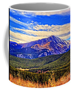 Coffee Mug featuring the photograph Mt. Silverheels II by Lanita Williams