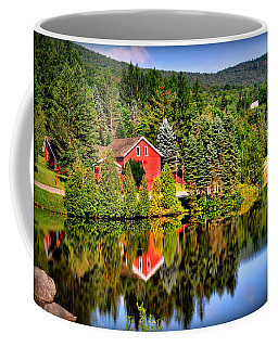 Mt. Snow In Summer Coffee Mug