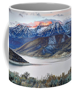 Mt. Timpanogos Winter Sunrise Coffee Mug