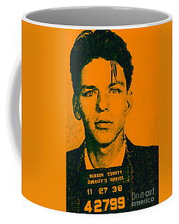 Mugshot Frank Sinatra V1 Coffee Mug
