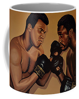 Muhammad Ali And Joe Frazier Coffee Mug