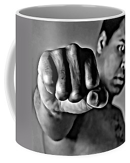 Muhammad Ali Fist Coffee Mug
