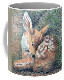 Mule Deer Fawn Coffee Mug