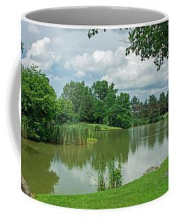 Muller Chapel Pond Ithaca College Coffee Mug