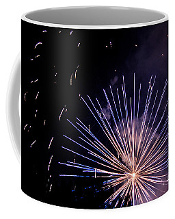 Coffee Mug featuring the photograph Multicolor Explosion by Suzanne Luft