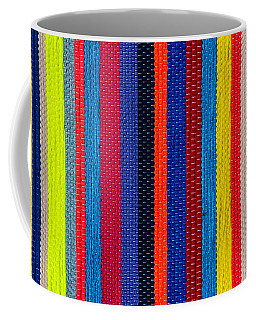 Multicolor Vertical Line Coffee Mug
