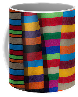 Multicolour Horizontal Line Coffee Mug
