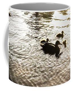 Mumma Duck And Ducklings Coffee Mug