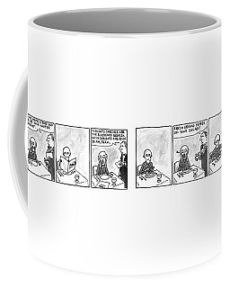 Munch In Manhattan Coffee Mug