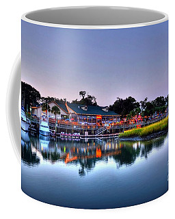 Coffee Mug featuring the photograph Murrells Inlet Evening by Mel Steinhauer