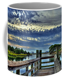 Coffee Mug featuring the photograph Murrells Inlet Morning 2 by Mel Steinhauer
